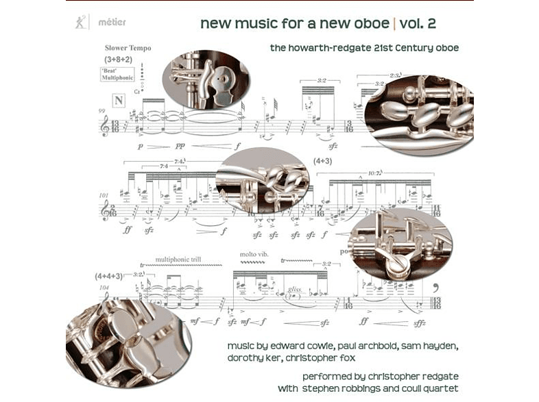 Christopher/coull Quartet/+ Redgate - New Music For A New Oboe | Vol.2 [CD]
