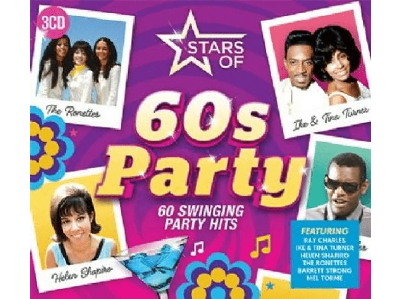 VARIOUS - Stars Of 60s Party [CD]