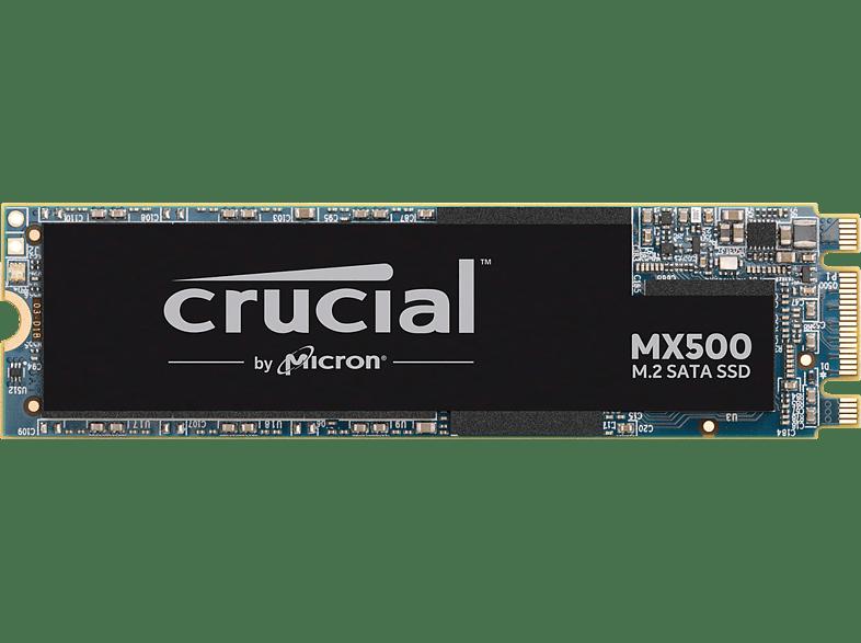 CRUCIAL MX500 M.2, 500 GB SSD, intern