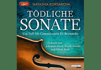 Steck,Johannes/Arnold,Frank/Brod,Oliver - Tödliche Sonate - Ein Fall für Commissario Di Bernardo   - (MP3-CD)