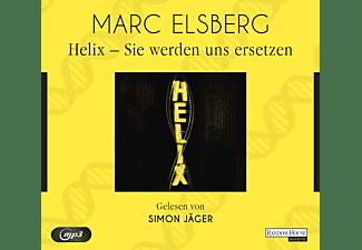 Simon Jäger - HELIX - Sie werden uns ersetzen  - (MP3-CD)