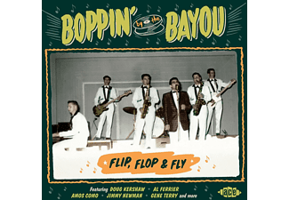 VARIOUS - Boppin' By The Bayou-Flip,Flop & Fly  - (CD)