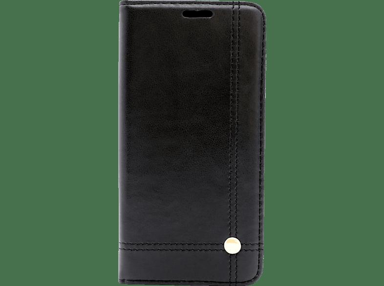 AGM 27098 , Bookcover, Samsung, A8 (2018), Obermaterial Kunstleder, Schwarz