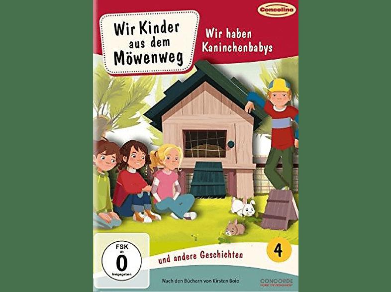 Wir Kinder aus dem Möwenweg und andere Geschichten 4 - Wir haben Kaninchenbabys [DVD]