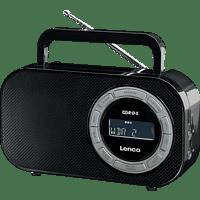 LENCO PR-2700 Radio, FM, Schwarz