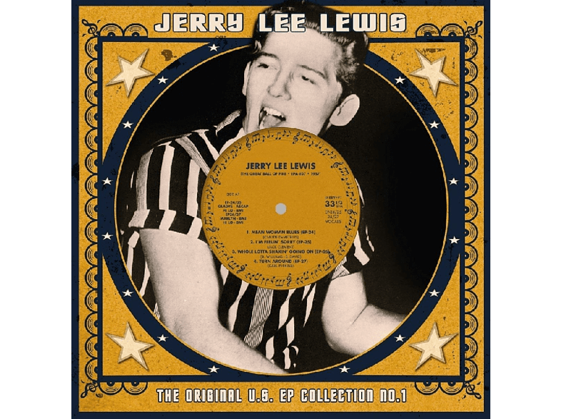 Jerry Lee Lewis - US EP Collection 1 (10 inch/weisses Vinyl) [EP (analog)]