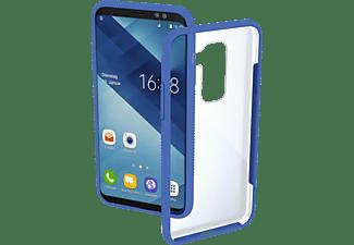HAMA Frame, Backcover, Samsung, Galaxy A6+ (2018), Blau
