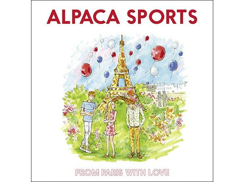 Alpaca Sports - From Paris With Love [CD]