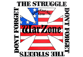 Warzone - Don't Forget The Struggle,Don't Forget The Street - (CD)