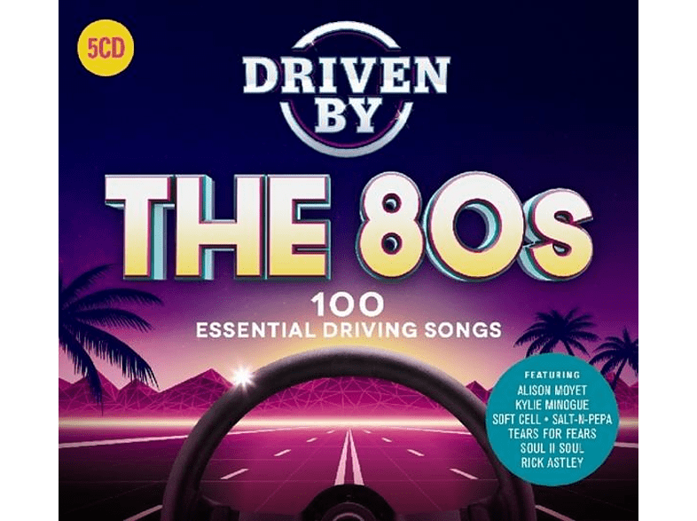 VARIOUS - Driven By The 80s [CD]