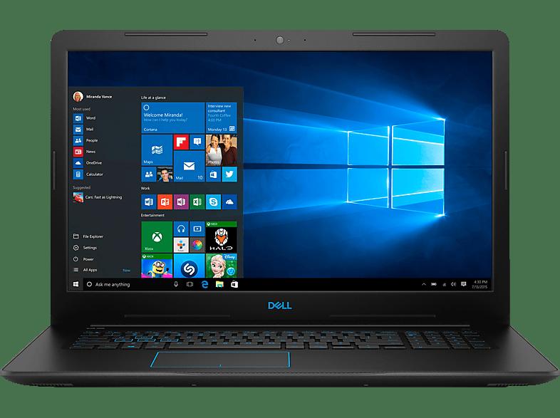 DELL G3 17 3779 I7, Notebook mit 17.3 Zoll Display, Core™ i7 Prozessor, 16 GB RAM, 128 GB SSD, 1 TB HDD, GeForce® GTX 1050 Ti, Black