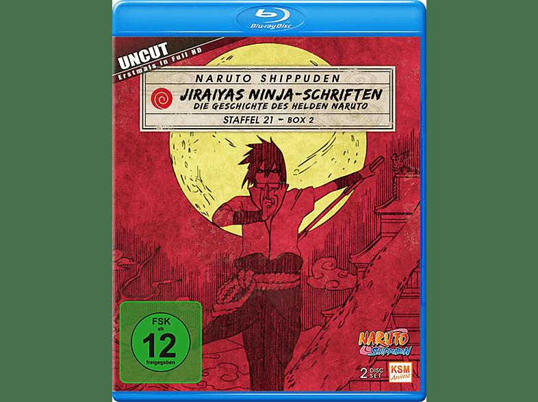 Naruto Shippuden Staffel 21.2 - Episode 662-670 [Blu-ray]