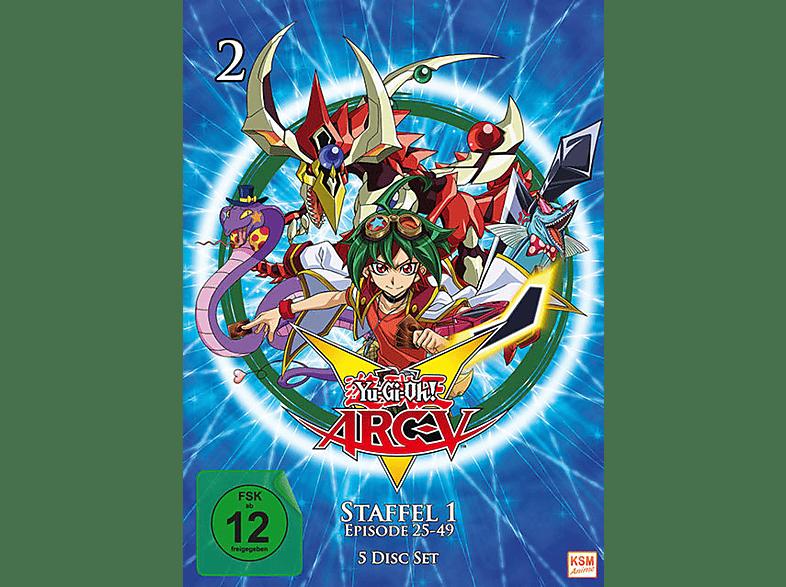 Yu-Gi-Oh! ARC-V - Staffel 1.2 - Episode 25-49 [DVD]