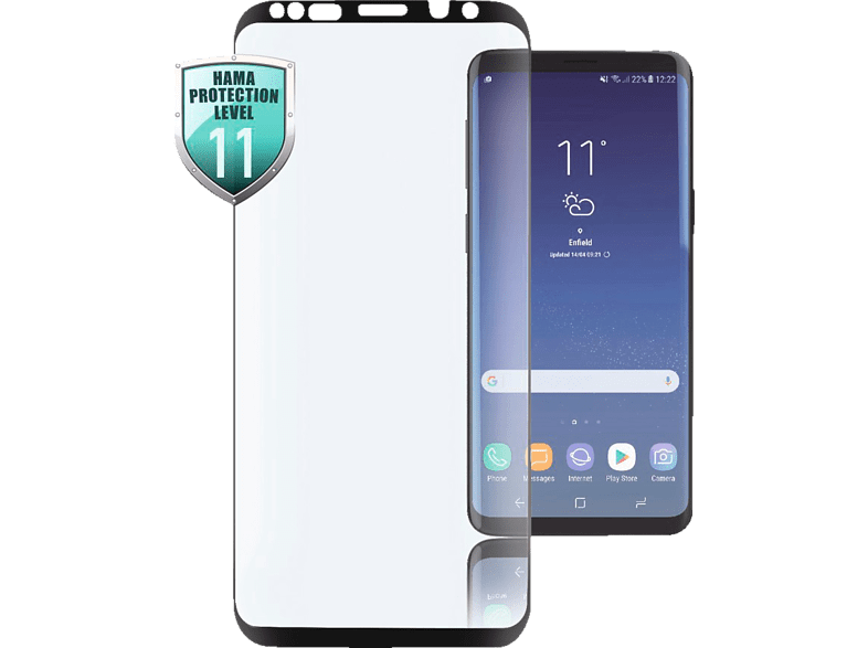 HAMA 3D-Full-Screen Schutzglas (Samsung Galaxy S9+)