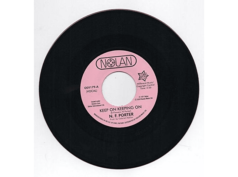 Nolan Porter - Keep On Keeping On / If I Could (Vinyl Single) [Vinyl]