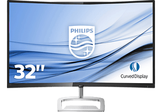 PHILIPS 328E9QJAB 31,5 Zoll Full-HD Curved Monitor (5 ms Reaktionszeit