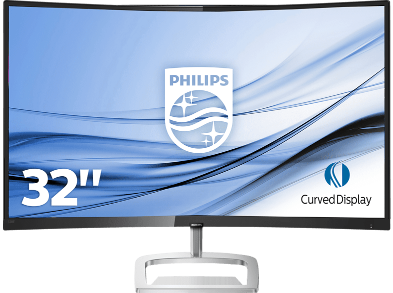 PHILIPS 328E9QJAB 31.5 Zoll Full-HD Curved Monitor (5 ms Reaktionszeit, FreeSync)