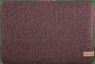 HAMA Jersey Notebookhülle, Sleeve, 14.1 Zoll, Dunkelrot