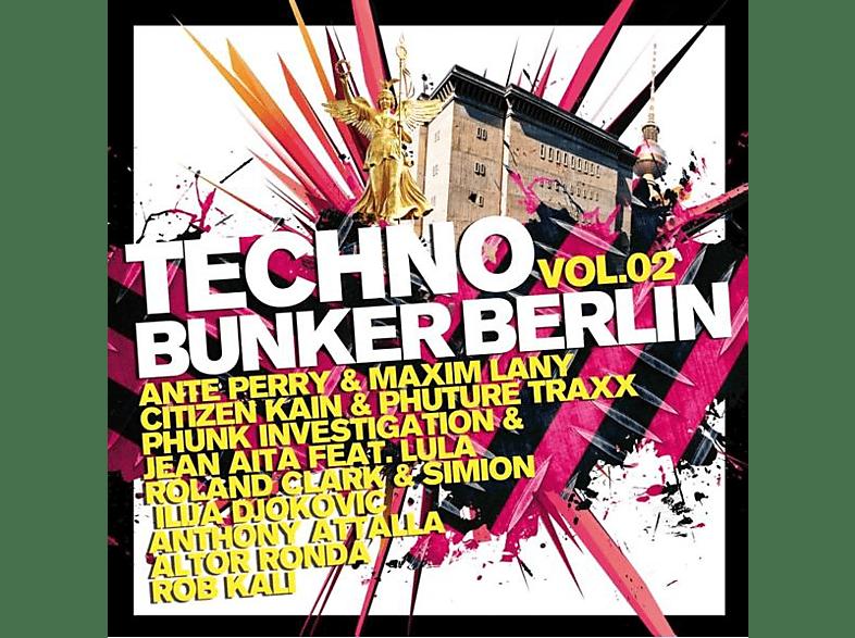 VARIOUS - Techno Bunker Berlin Vol.2 [CD]