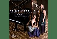 Duo Praxedis - Histoires-Originale Opern-Bearbeitungen für Harf [CD]