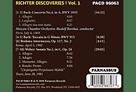 Sviatoslav Richter - Richter Discoveries ! Vol.1 [CD]