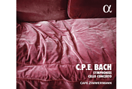 Cafe Zimmermann - Symphonies & Cello Concerto [CD]