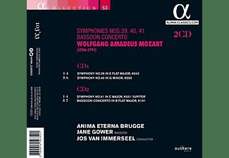 Anima Eterna Brugge, Jane Gower - Symphonies Nos.39, 40 & 41  - (CD)