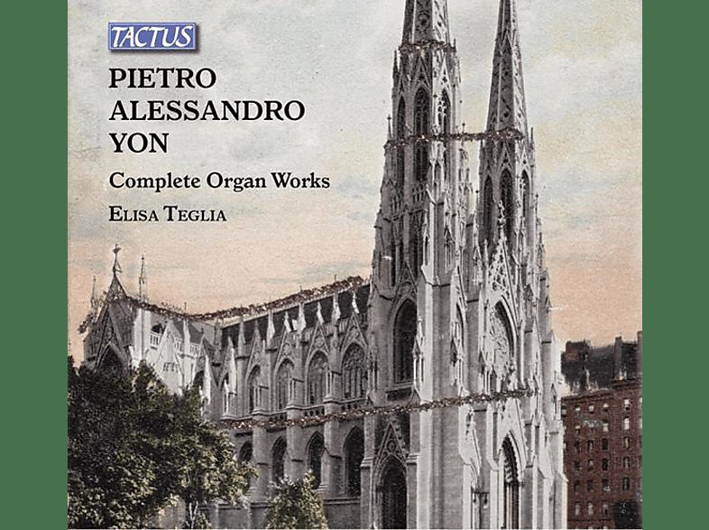 Elisa Teglia - Das gesamte Orgelwerk [CD]