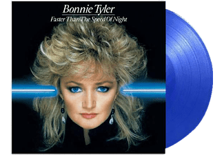 Bonnie Tyler - Faster Than The Speed Of Night (ltd transparent bl  - (Vinyl)