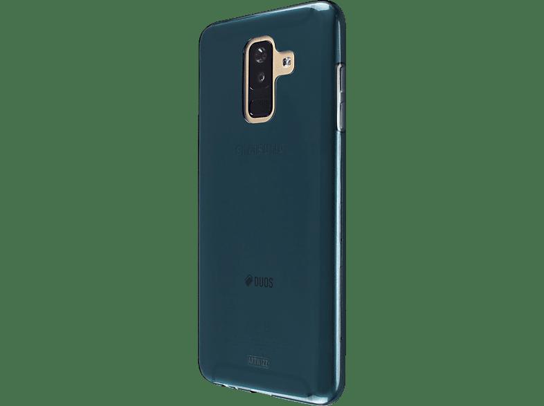 ARTWIZZ NoCase , Backcover, Samsung, Galaxy A6+ (2018), Thermoplastisches Polyurethan, SpaceBlue