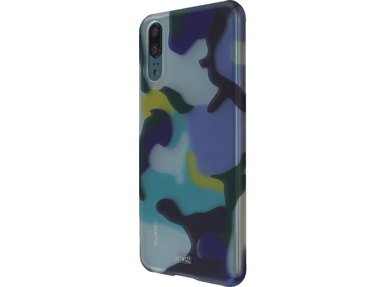 ARTWIZZ CamouflageClip , Backcover, Huawei, P20, Polycarbonat, Ocean