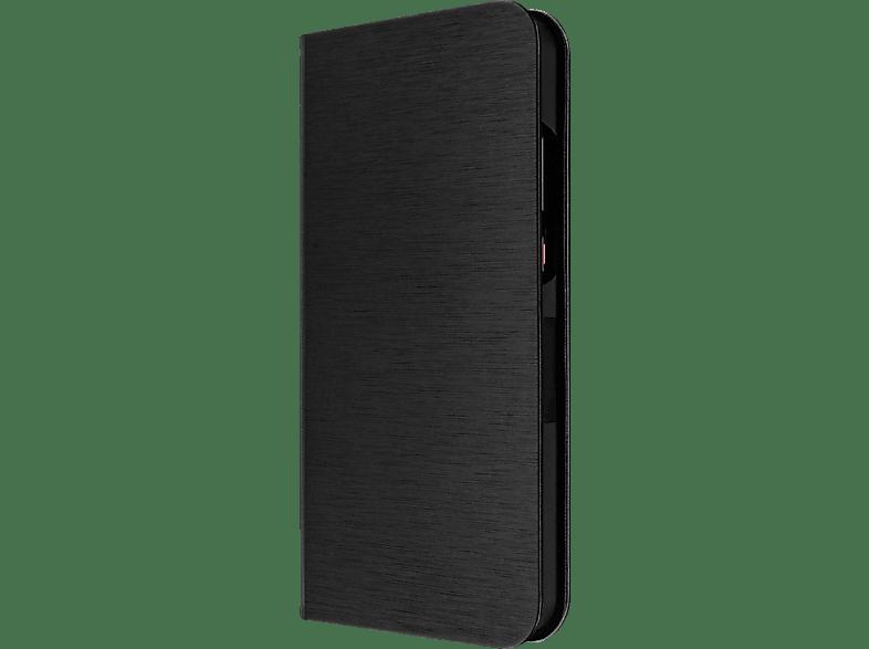 ARTWIZZ FolioJacket , Bookcover, Huawei, P20 Pro, Polyurethan im gebürsteten Metalldesign, Schwarz