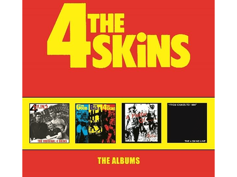 The 4-skins - The Albums [CD]