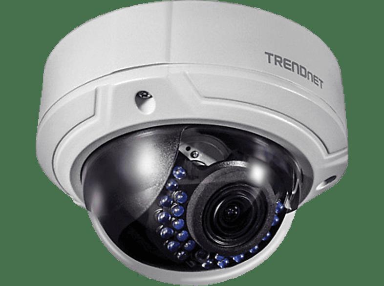 TRENDNET Kuppel-Netzwerkkamera Indoor / Outdoor  Überwachungskamera