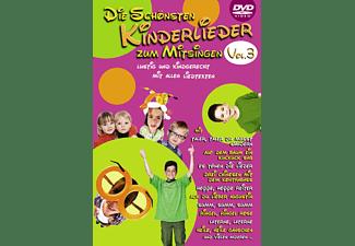 Die schönsten Kinderlieder zum Mitsingen Vol. 3 DVD