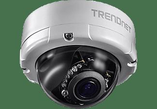 TRENDNET Netzwerk-Kuppelkamera Indoor / Outdoor, Überwachungskamera, Auflösung Video: H.264: 2688 x 1520 bis zu 30 fps MJPEG: 2688 x 1520 bis zu 30 fps H.264: 640 x 480 bis zu 15 fps (nur 3GPP)