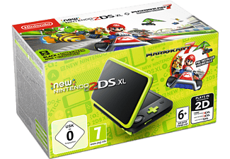NINTENDO 2DS New XL Black and Lime Green μαζί με το Mario Kart (DLC)