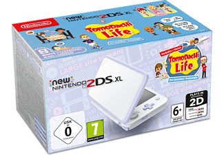 NINTENDO 2DS New XL white and Lavender μαζί με το Tomodachi Life (DLC)