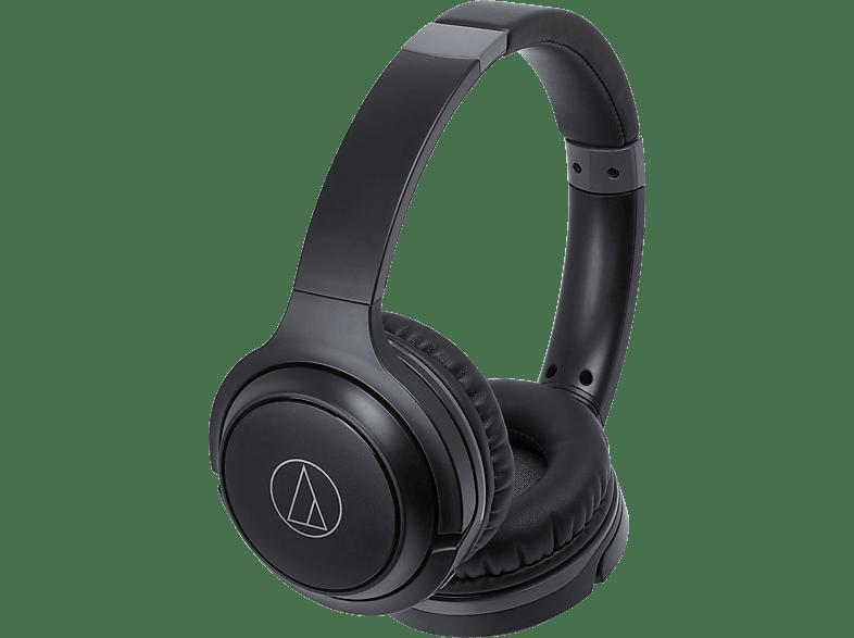 AUDIO-TECHNICA ATH-S200BTBK, On-ear Kopfhörer Bluetooth Schwarz