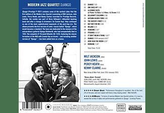 The Modern Jazz Quartet - Django  - (CD)