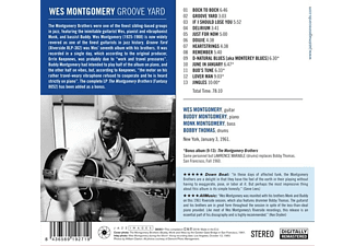 Wes Montgomery - Groove Yard  - (CD)