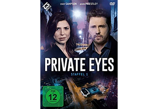 Private Eyes - Staffel 1 DVD