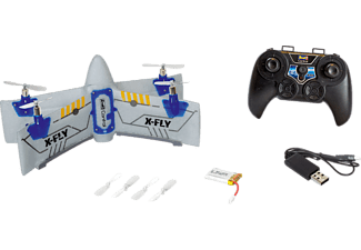 REVELL Quadcopter X-FLY R/C Spielzeugquadcopter