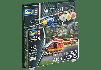 REVELL Model Set EC135 AIR-GLACIERS Spielwaren, Mehrfarbig