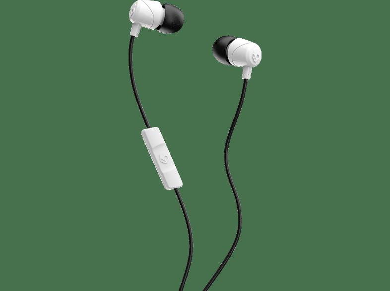 SKULLCANDY S2DUYK-441, In-ear Kopfhörer  Weiß/Schwarz