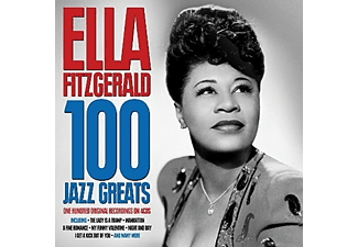 Ella Fitzgerald - 100 Jazz Greats (CD)