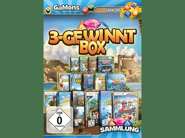 GaMons - 3 Gewinnt MEGA Box - 2018 [PC]