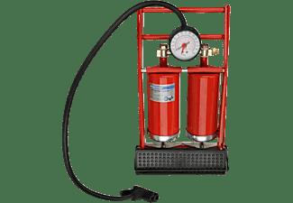 FISCHER 85582 Doppelzylinder Duokopf Fuss- Luftpumpe