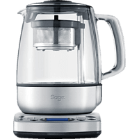 SAGE STM800BSS4EEU1 The Tea Maker Teekocher (2000 Watt , Silber/Transparent)