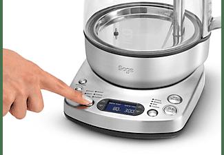 SAGE STM800BSS4EEU1 The Tea Maker Teekocher (2000 Watt , Silber/Transparent)